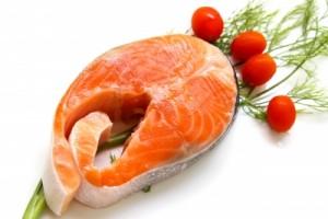 Raw salmon pic